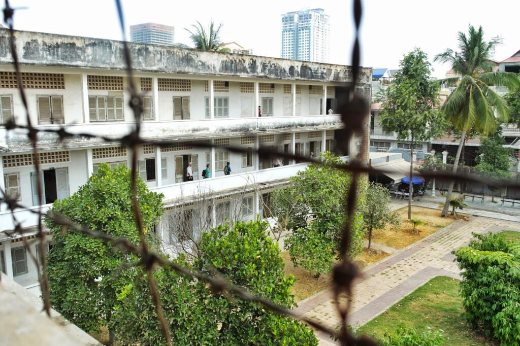 Музей геноцида в Пном Пень, Камбоджа