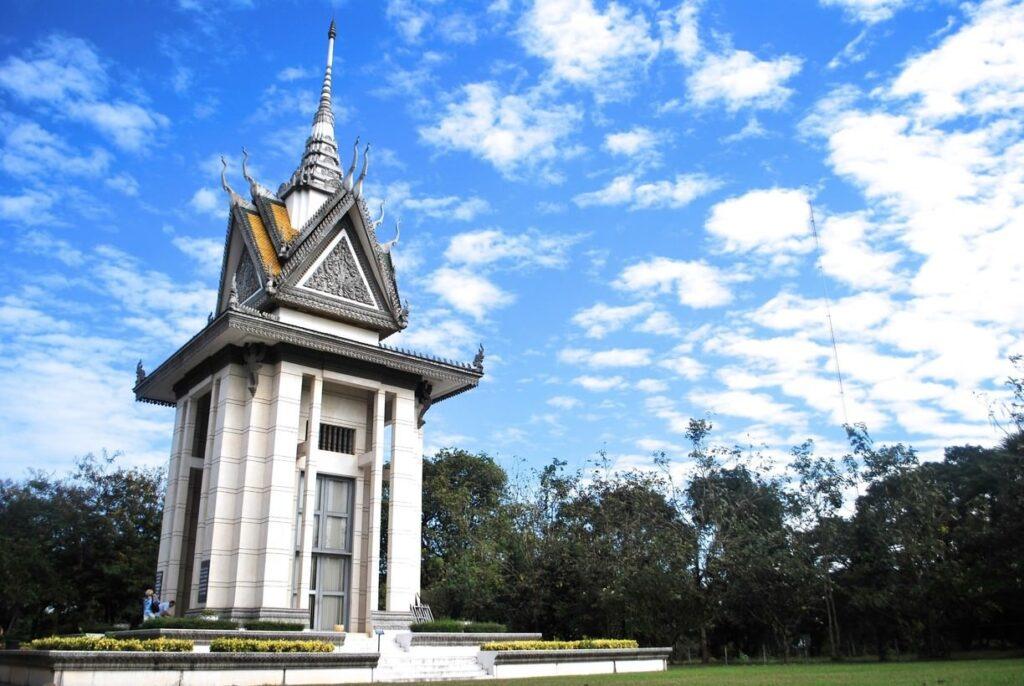 Поля смерти Чоенг Эк в Пном Пене, Камбоджа