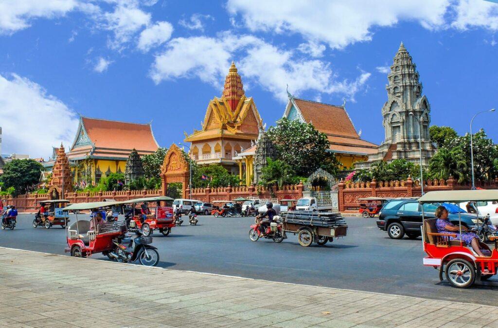 Столица Камбоджи Пном Пень