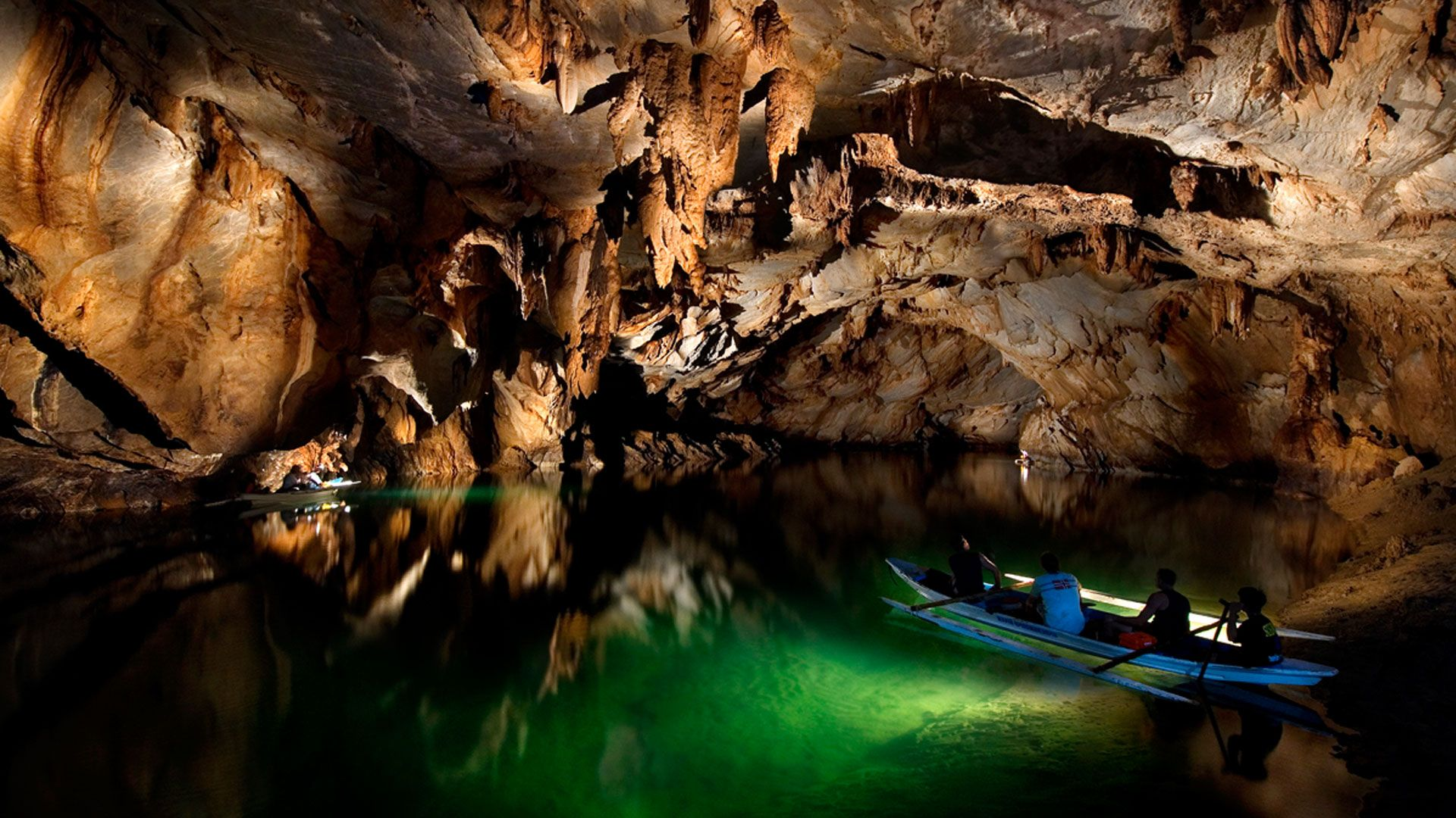 Подземная река Пуэрто-Принцесса на острове Палаван