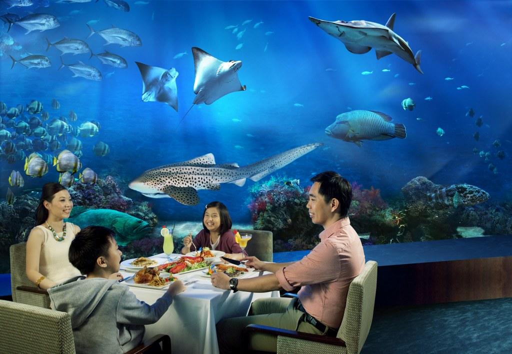 Sea Aquarium на Сентосе в Сингапуре