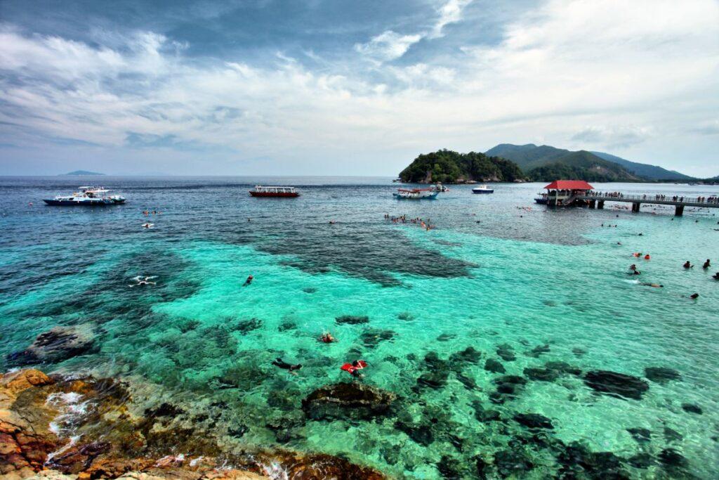 Остров Селакан в Малайзии, Морской парк Тун Сакаран