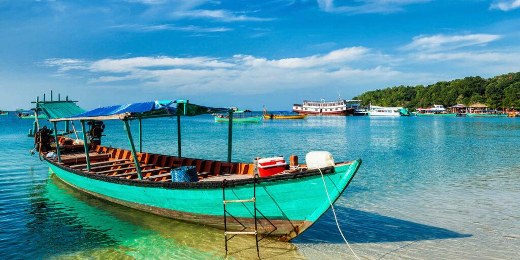 Пляжный отдых в Камбодже