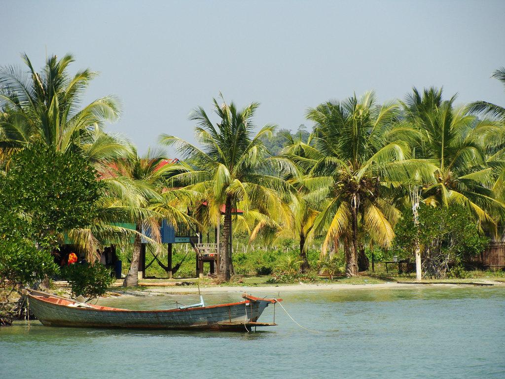 Острова Камбоджи для пляжного отдыха