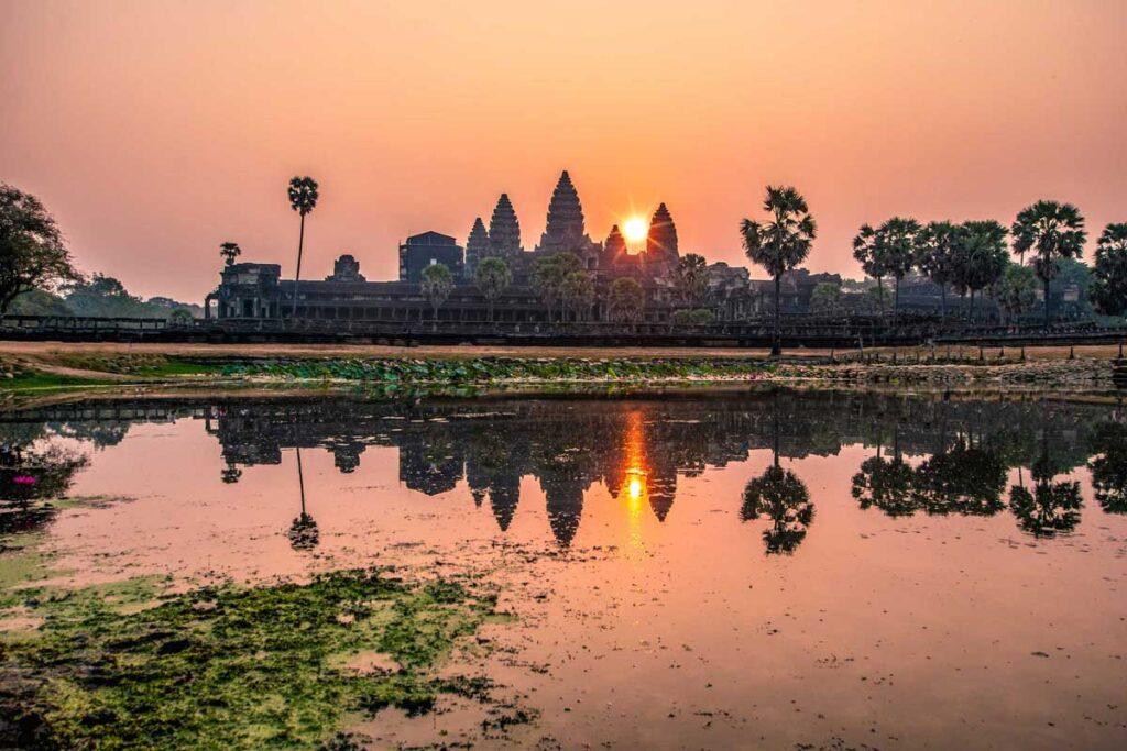 Экскурсия Angkor wat из Сием Рипа, Камбоджа