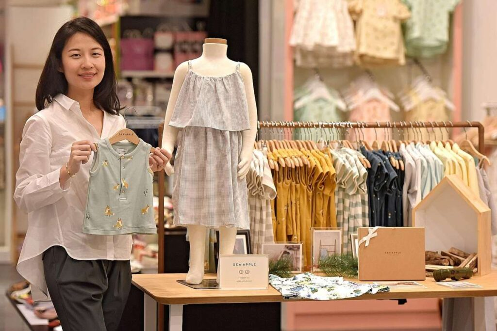 Магазины подарков и одежды в Сингапуре