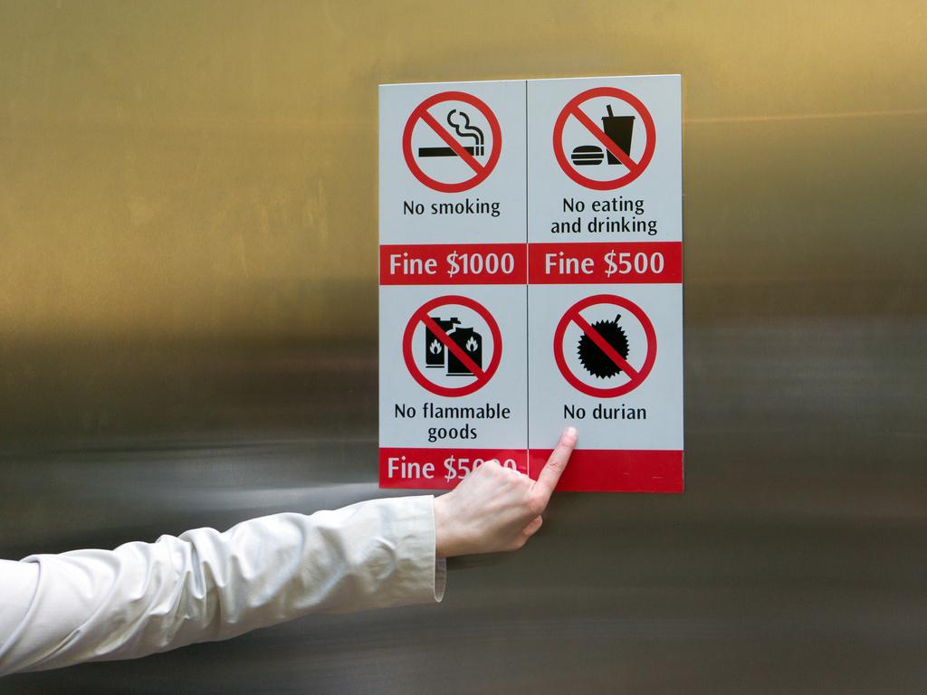 Штрафы и запреты для туристов в Сингапуре