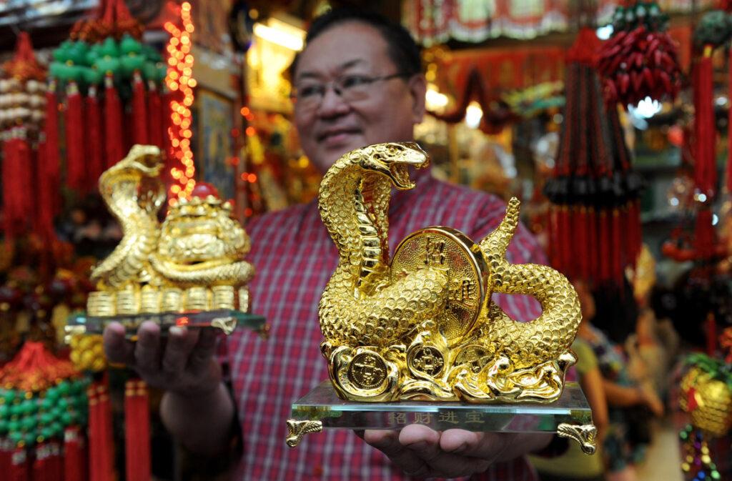 Сувениры в китайском квартале Сингапура
