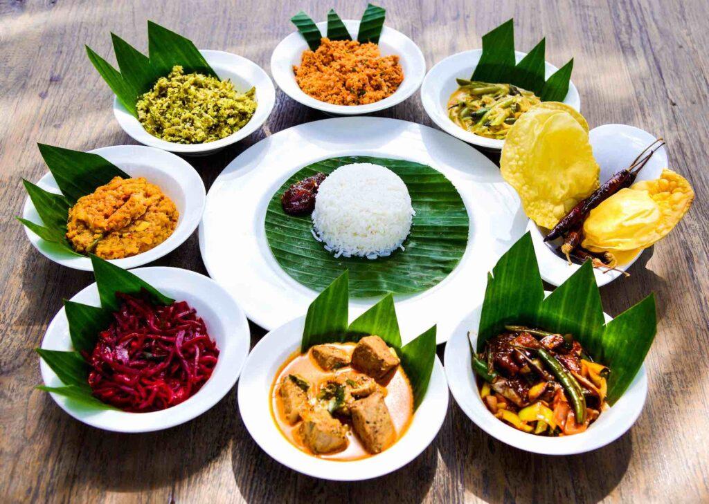 Национальное блюдо Шри-Ланки - Карри