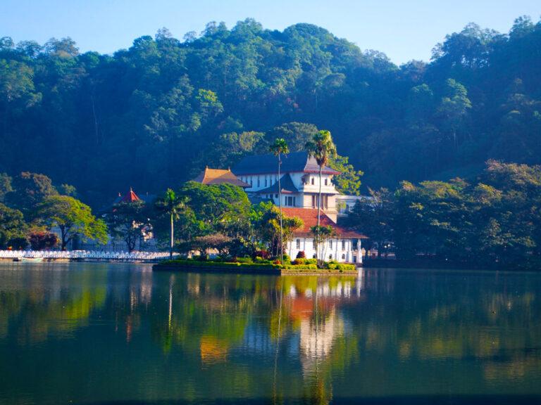 Достопримечательности города Канди на Шри-Ланке