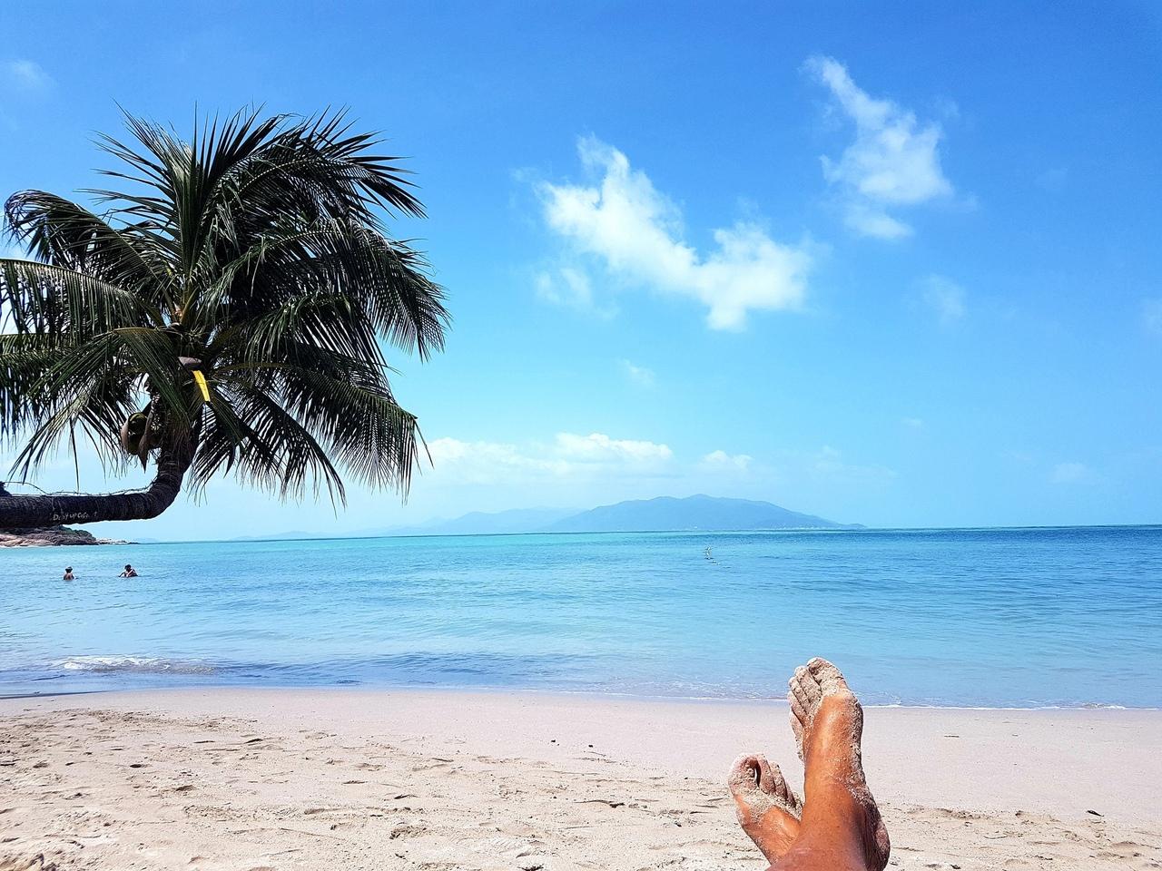 Пляж тонгсон в Таиланде