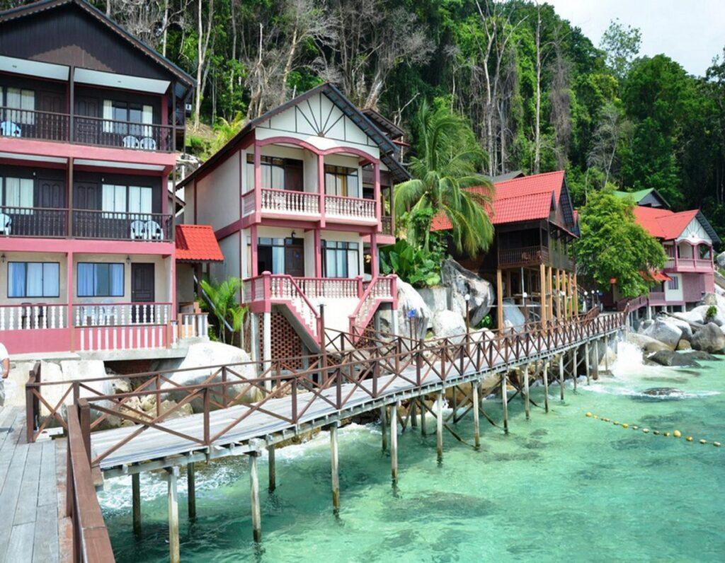 Отели на острове Тиоман в Малайзии