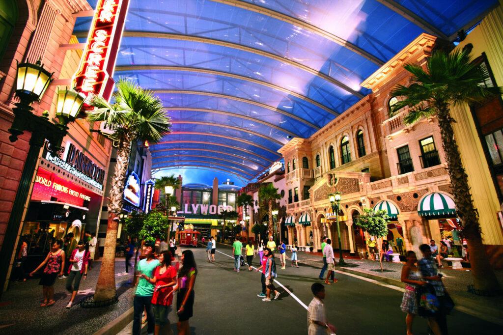 Тематический парк Universal Studios в Сингапуре