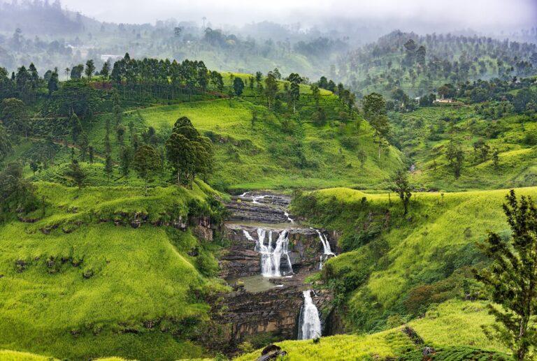 Лучшие водопады Шри-Ланки