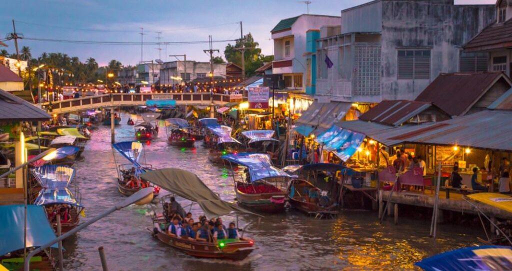 Туры на плавучем рынке Ампхава