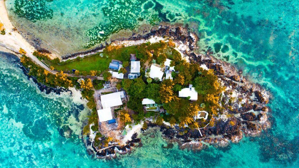 Гран Бэ, Маврикий