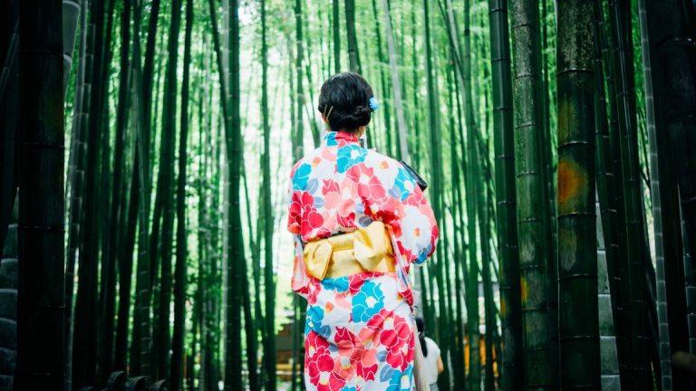 Бамбуковая роща, Япония