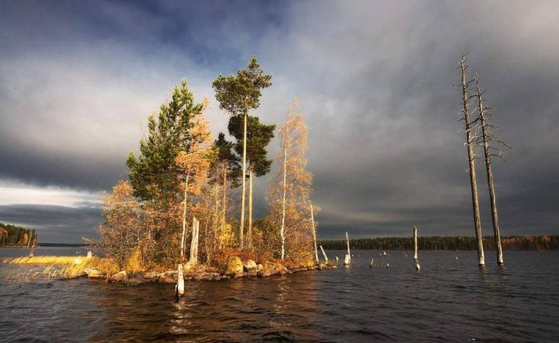 Озеро Выгозеро в Карелии