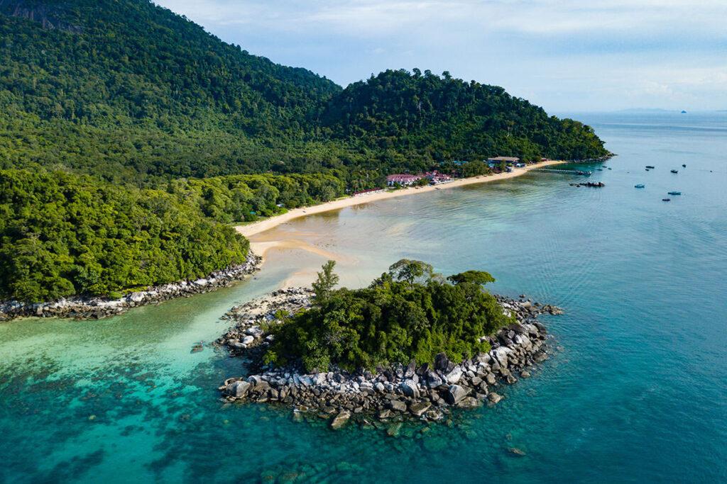 Пляжи острова Тиоман