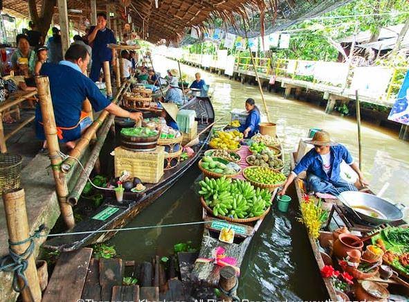 Плавучий рынок Талинг Чан