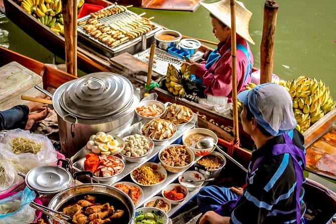 Плавучий рынок, Бангкок