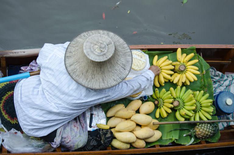 Рынок Талинг Чан в Бангкоке