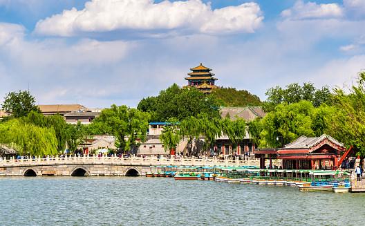Парк Бэйхай в Китае