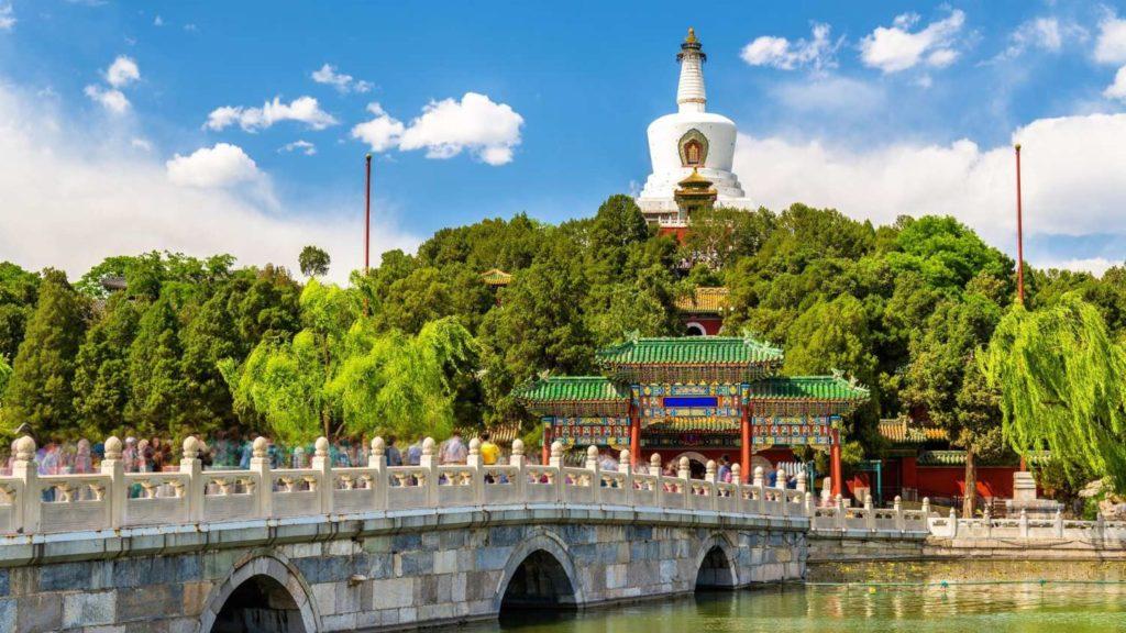 Бэйхай парк в Пекине