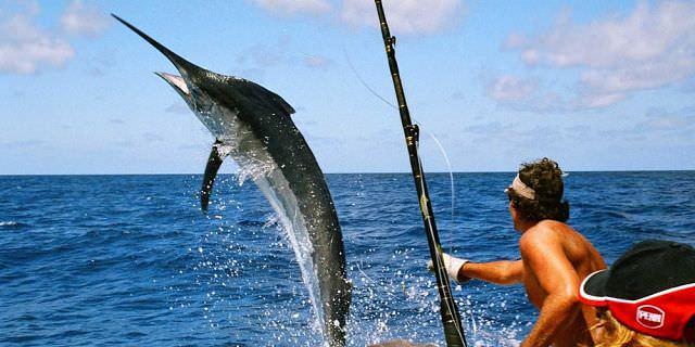 Рыбалка на острове Маврикий