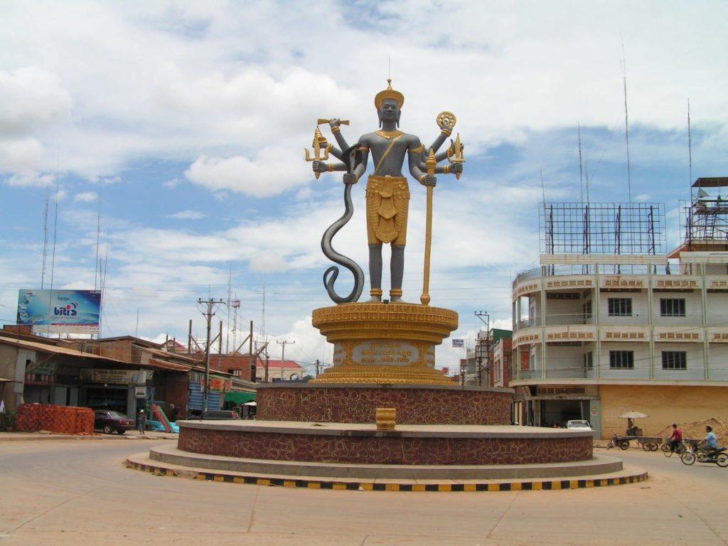 Баттамбанг в Камбодже